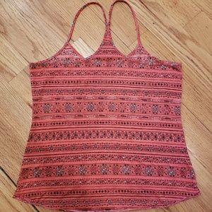 Urban Outfitters Tops - Urban Outfitters Coral Racerback Tribal Tank Top